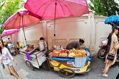 Vendedores ambulantes Fotografia de Stock Royalty Free