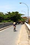 Vendedores ambulantes Hanoi Fotografía de archivo