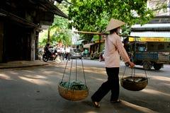 Vendedores ambulantes Hanoi Imagem de Stock