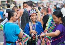 Vendedores ambulantes tailandeses de la calle Foto de archivo libre de regalías