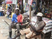 Vendedores en Sudán del sur Imagen de archivo