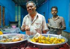 Vendedores indianos Fotografia de Stock Royalty Free