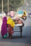 Vendedores indianos da cerâmica Imagem de Stock