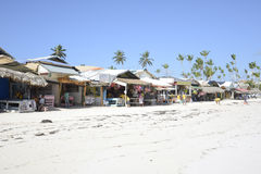 Vendedores na praia Imagens de Stock Royalty Free