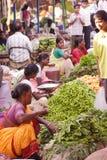 Vendedores vegetais indianos Fotos de Stock Royalty Free