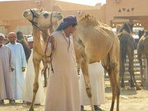 Vendedores y mercancías, UAE Fotografía de archivo