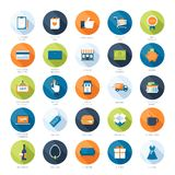 Vendendo ícones Imagens de Stock