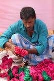 Vendendo cordas Fotografia de Stock