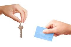 Vendendo ou deixando bens imobiliários imagem de stock