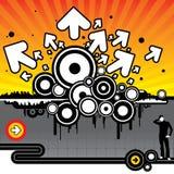 Vendetta grafica Fotografia Stock Libera da Diritti