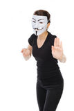 Vendetta mask Stock Photos