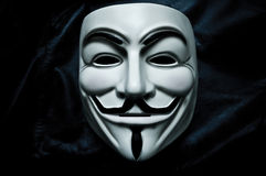 Vendetta mask Stock Photography