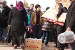 Vendeur d'enfant en Irak Photos libres de droits