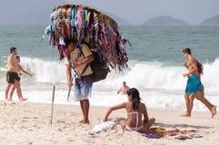 Vendeur de bikini Photographie stock libre de droits