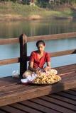 Vendeur de Samosa Photos libres de droits