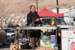 Vendeur de thé en Irak Image stock