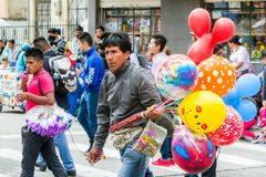 Vendeur latin de ballon Photo stock