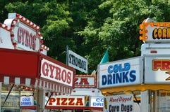 Vendeurs de carnaval Images libres de droits