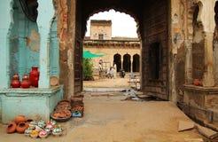Vendeurs en Inde Images stock