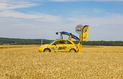 BIC Vehicle - Tour de France 2017 stock images