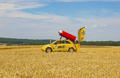 BIC Vehicle - Tour de France 2017 stock image