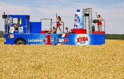 X-Tra Total Vehicle- Tour de France 2017 stock photo