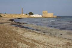 Vendicari海滩,西西里岛,意大利 免版税库存图片