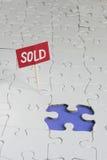 Vendido imagens de stock