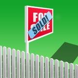 Vendido! Imagens de Stock