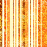Vendimia anaranjada y marrón de papel empilada fotografía de archivo libre de regalías