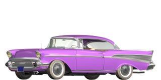 Vendimia auto stock de ilustración