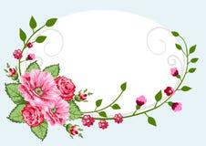 Vendimia de las rosas del Victorian libre illustration