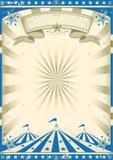 Vendimia del azul del circo Imagen de archivo