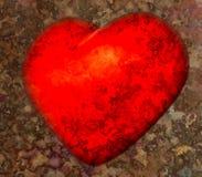 Vendimia del corazón Imagenes de archivo