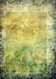 Vendimia - frontera de la impresión floral de Nouveau del arte ilustración del vector