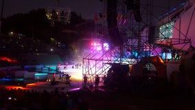 Vendimia mendoza旅行的夏夜节日 免版税库存照片