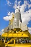 Vendimia Rocket Imágenes de archivo libres de regalías