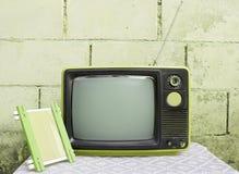 Vendimia TV Fotos de archivo