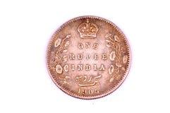 Vendimia una moneda de la rupia