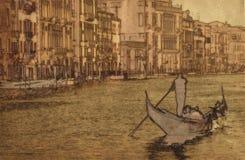 Vendimia Venecia Fotografía de archivo libre de regalías