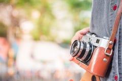 Vendimia vieja de la cámara Fotografía de archivo