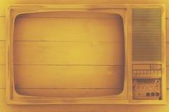 Vendimia vieja TV Imágenes de archivo libres de regalías