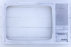 Vendimia vieja TV Foto de archivo