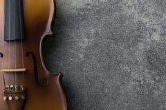 Vendimia violine Foto de archivo libre de regalías