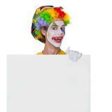 Vending clown Royalty Free Stock Image