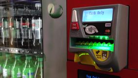 Vending Machine stock video footage