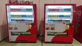 Soft Drinks Vending Machine stock photos