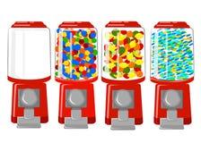 Vending machine  Illustration flat Design Elements. Stock Images