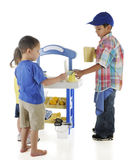 Vending Preschooler Royalty Free Stock Photo