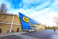 Vendita al dettaglio di Best Buy a Portland, U.S.A. immagini stock